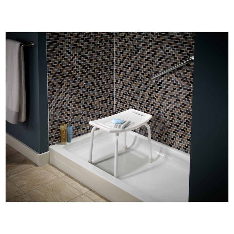 delta tub and shower seat