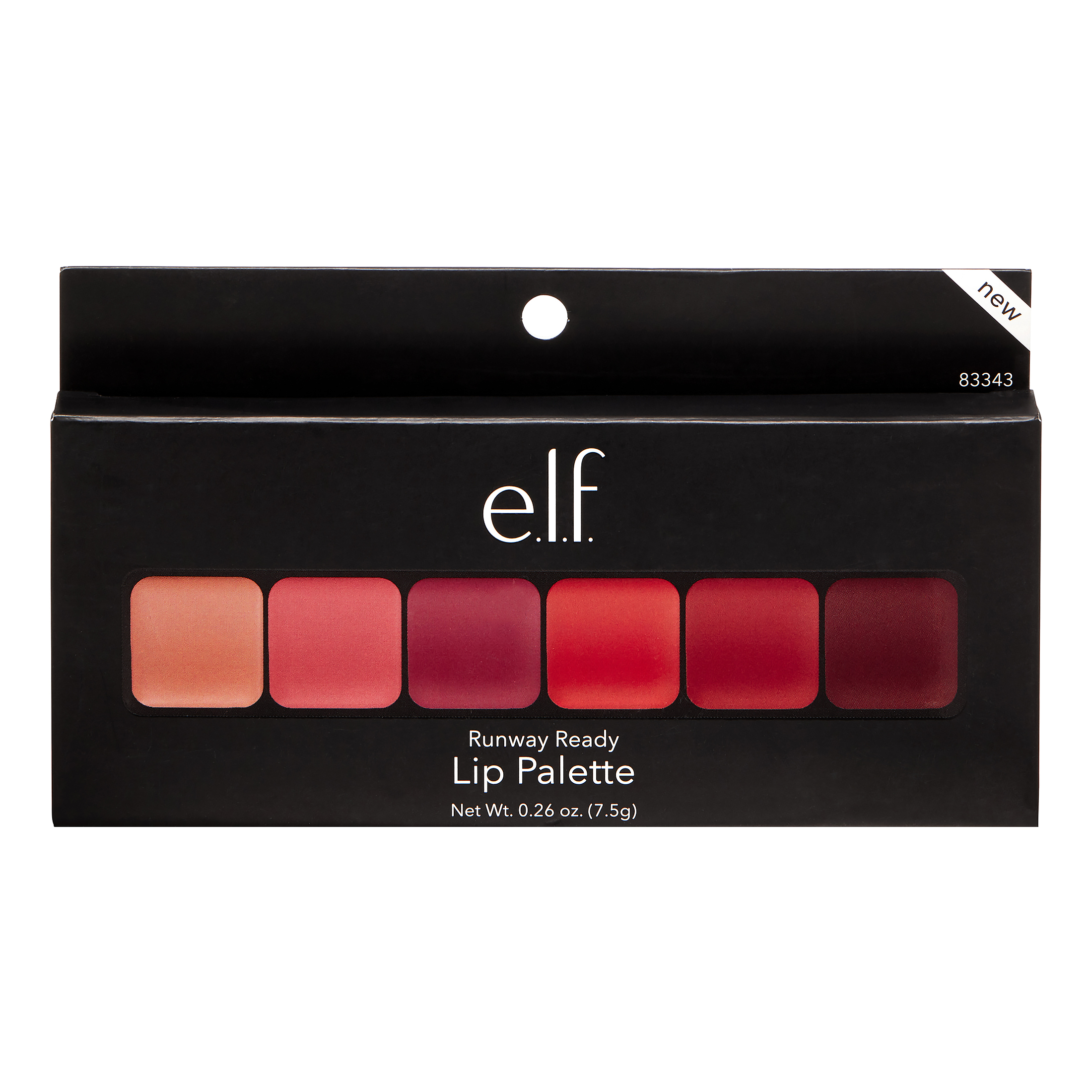 e.l.f. Lip Palette Runway Ready, 0.26 OZ