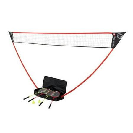 The Portable Instant Badminton Set