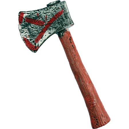 Zombie Hunter Axe Halloween Accessory