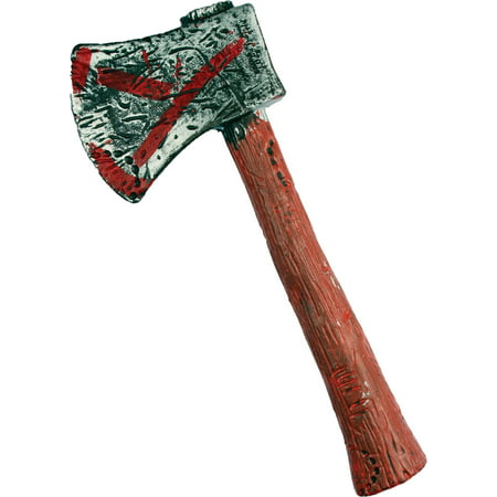 Zombie Hunter Axe Halloween Accessory - Halloween Zombie Outfit
