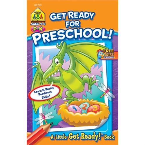 My First Little Busy Book-Get Ready For Preschool, School Zone By School Zone by