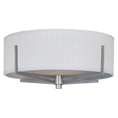 100sn Elements Satin - Elements 3-Light Flush Mount