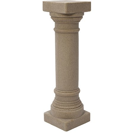 Emsco Group 2300-1 Greek Column Outdoor Statuary, Sand