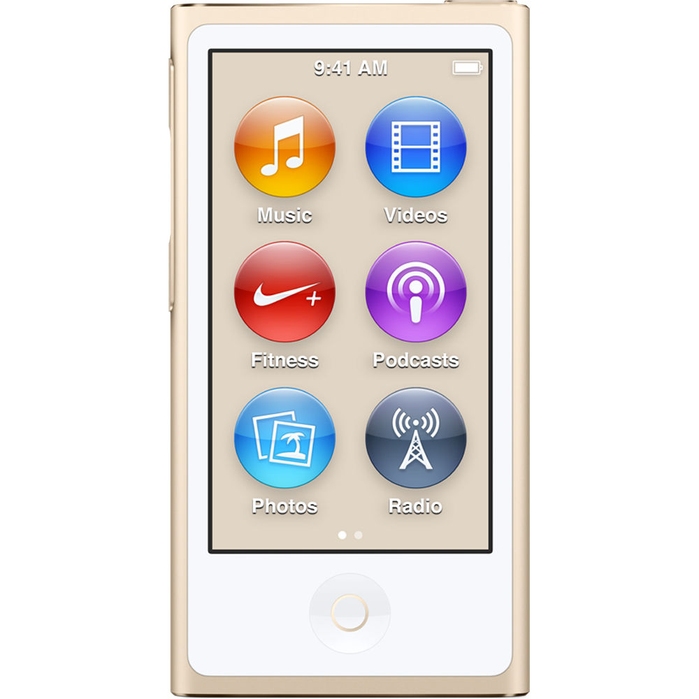Apple iPod Nano 8th Generation (16GB) Gold Bundle +(6) Bo...