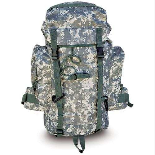 Every Day Carry Heavy Duty XL Mountaineer Hiking Day Pack Backpack - ACU