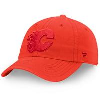 Calgary Flames Fanatics Branded Women's Color Hue Fundamental Adjustable Hat - Red - OSFA