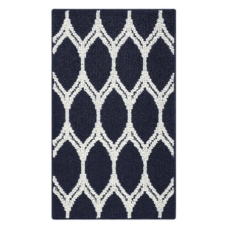 Mainstays Sheridan Ogee High Low Loop Textured Area Rug or Runner