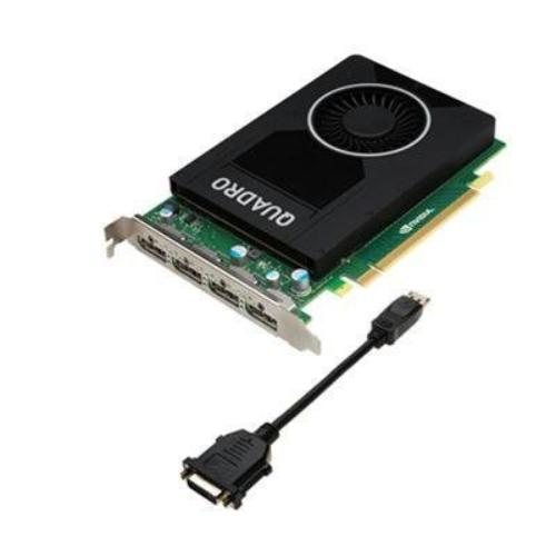 Pny Quadro M2000 Graphic Card - 4 Gb Gddr5 - Pci Express 3.0 X16 - Single Slot Space Required - 128 Bit Bus Width - Fan Cooler - Opengl 4.5, Opencl, Directx 12, Directcompute 5.0 - 4 X (vcqm2000-pb)