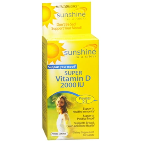 Windmill Health Products Nutrition Works Vitamin D, 60 ea