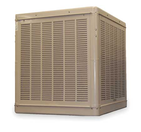 ESSICK AIR N56/66D Ducted Evaporative Cooler, 1/2 HP