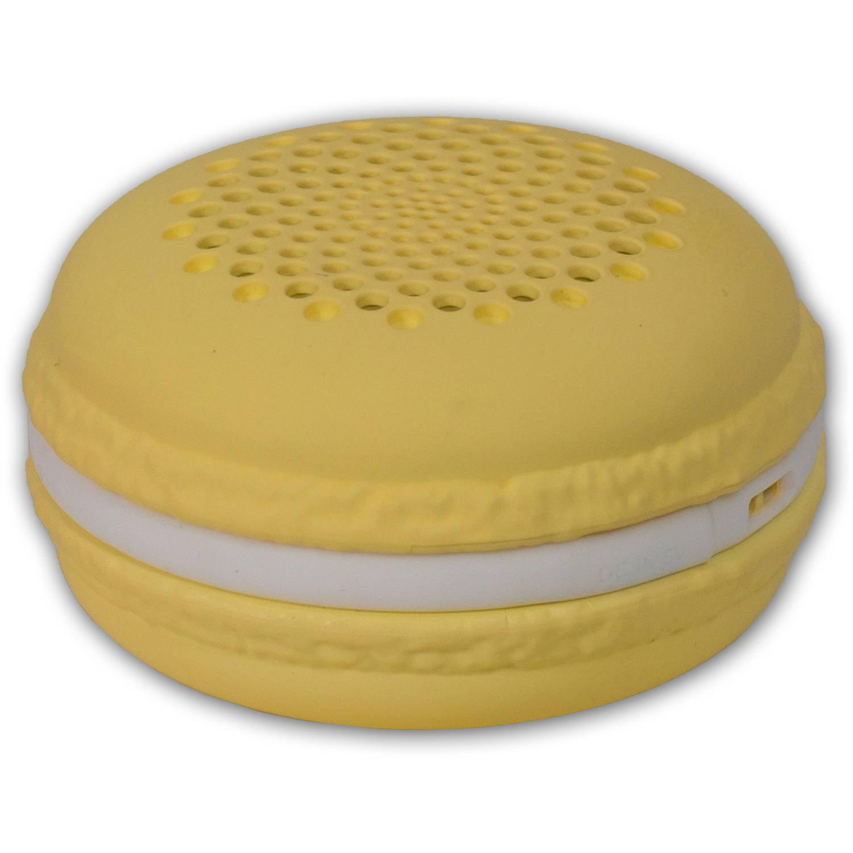 Sceptre McCaron Bluetooth Speaker, Yellow