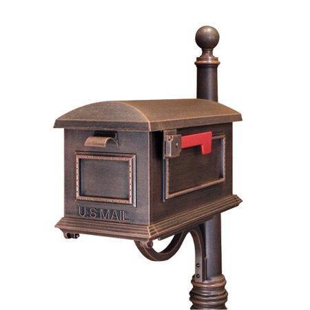 Special Lite Products Traditional Curbside Post Mount Mailbox