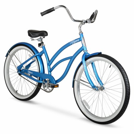 Hyper 26-inch Ladies Metallic Blue Cruiser (Girls Beach Cruisers)