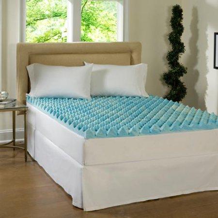 beautyrest 3 inch big loft gel memory foam mattress topper cal king. Black Bedroom Furniture Sets. Home Design Ideas