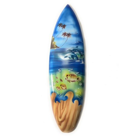 Playroom Trophies (Surfboard w/ Island Sealife 20
