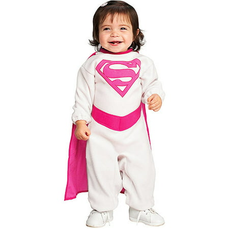 Pink Supergirl Infant Halloween Costume (Costume Supergirl)