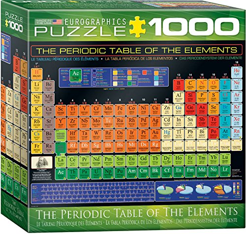 Eurographics small box periodic table of elements puzzle 1000 piece urtaz Gallery