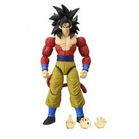 Action Figure Toy - Dragon Ball Stars - Super Saiyan 4 Goku - Wave 9 - 7