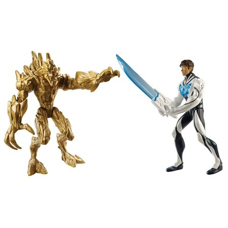 - Max Steel Y1408 vs. Earth Elementore Battle Pack Action Figures