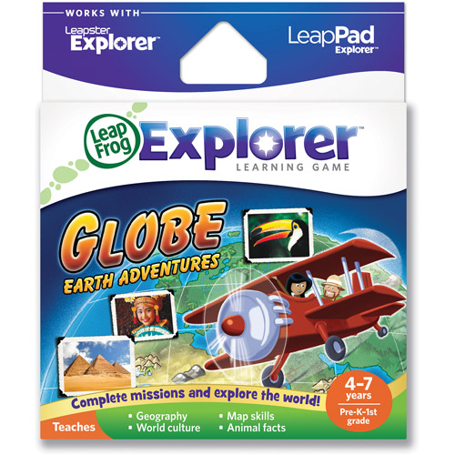 LeapFrog Explorer & LeapPad Learning Game: Globe: Earth Adventures
