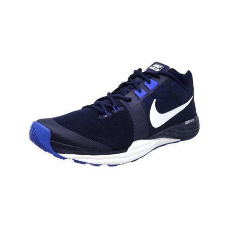 Nike Men's Train Prime Iron Df Binary Blue / White-Racer Ankle-High Cross Trainer Shoe - 11.5M