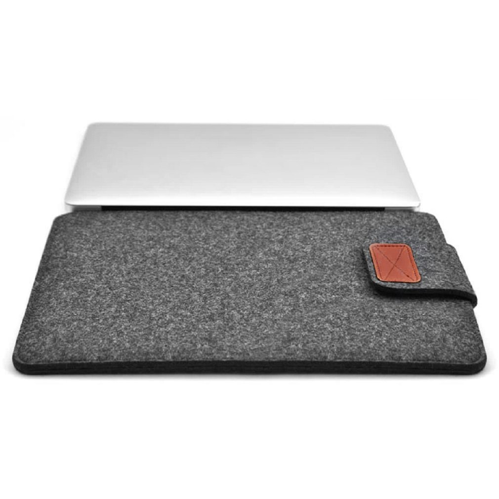 3000043394fd Soft Felt Protective Laptop Bag Sleeve Bag Case Ultra Thin Protective Case  Cover Suitable for Macbook 12 Inch