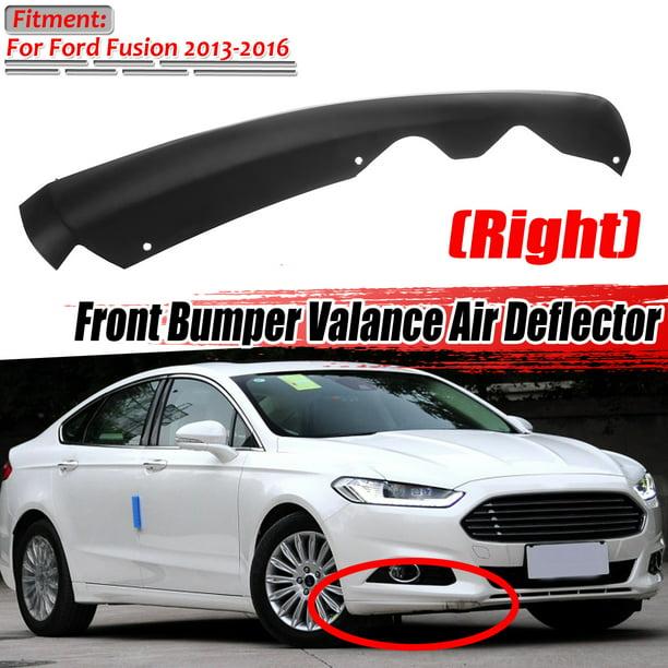Front Bumper Valance Air Deflector Front Lower Right Valance Air Deflector For 2013 2016 Ford Fusion Ds7z17626aa Right Walmart Com