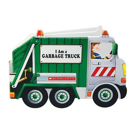 I Am A Garbage Truck (Board Book) - I Am Okay Halloween