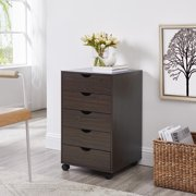 Taylor 5 Drawers Cabinet by Naomi Home-Color:Espresso