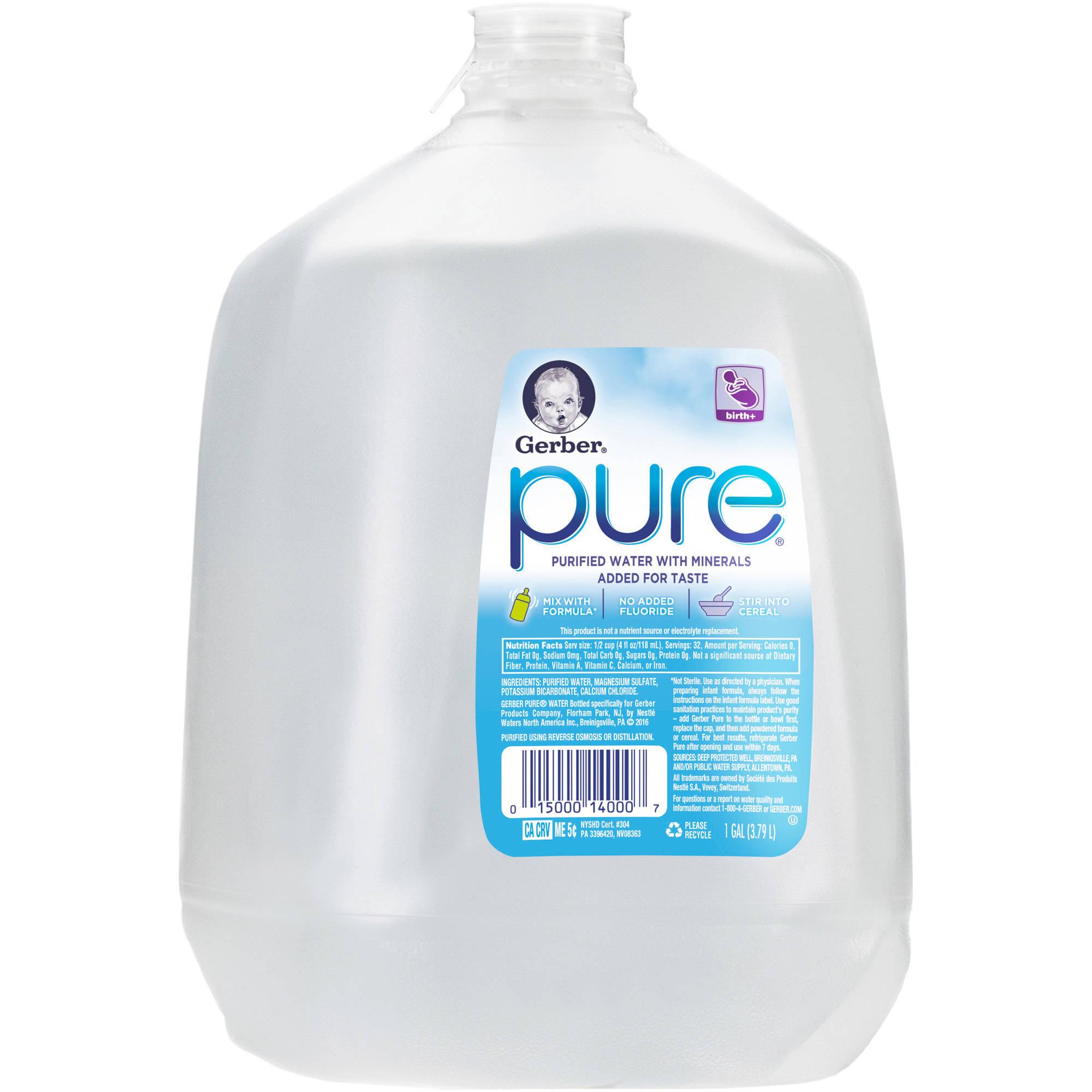 Gerber Pure Water, 1 gal