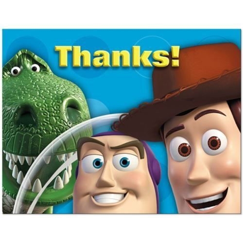 Toy Story 3 Thank You Notes w/ Env. (8ct)