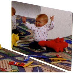 Kids Safe Frameless Acrylic Mirror by Jonti-Craft