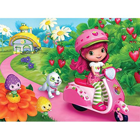 Puzzle - Ceaco - Strawberry Shortcake - on Vespa 60pc New (Strawberry Shortcake Puzzle)