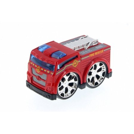 Super Engine Rescue Racer Fire Engine, Red 78401D - Motor Max Showcasts 78401/3D - Diecast Model Toy Car (Brand New but NO BOX)