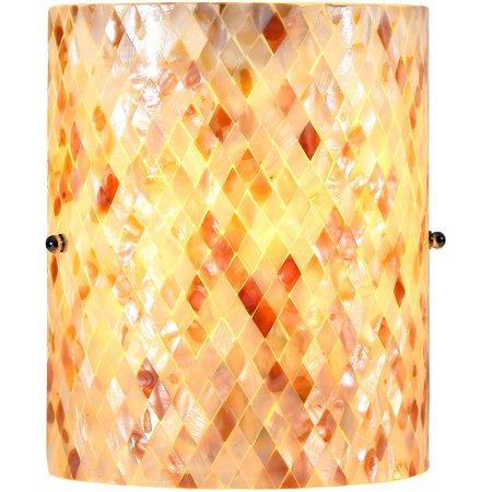 CHLOE Lighting SHELLEY Mosaic 1 Light Wall Sconce 8.5