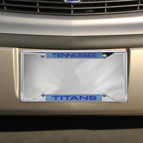 Tennessee Titans Team Silver Glitter Metal Frame