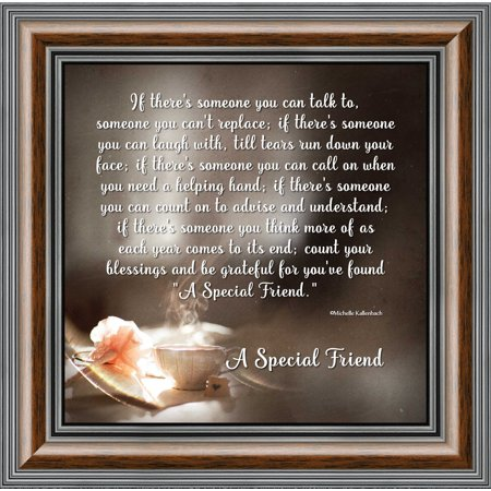 A Special Friend, Poem about Friendship, Thank You to My Best Friend Picture Frame, 10x10 (Ranbir Kapoor Best Photos)
