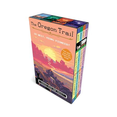 The Oregon Trail (paperback boxed set plus poster