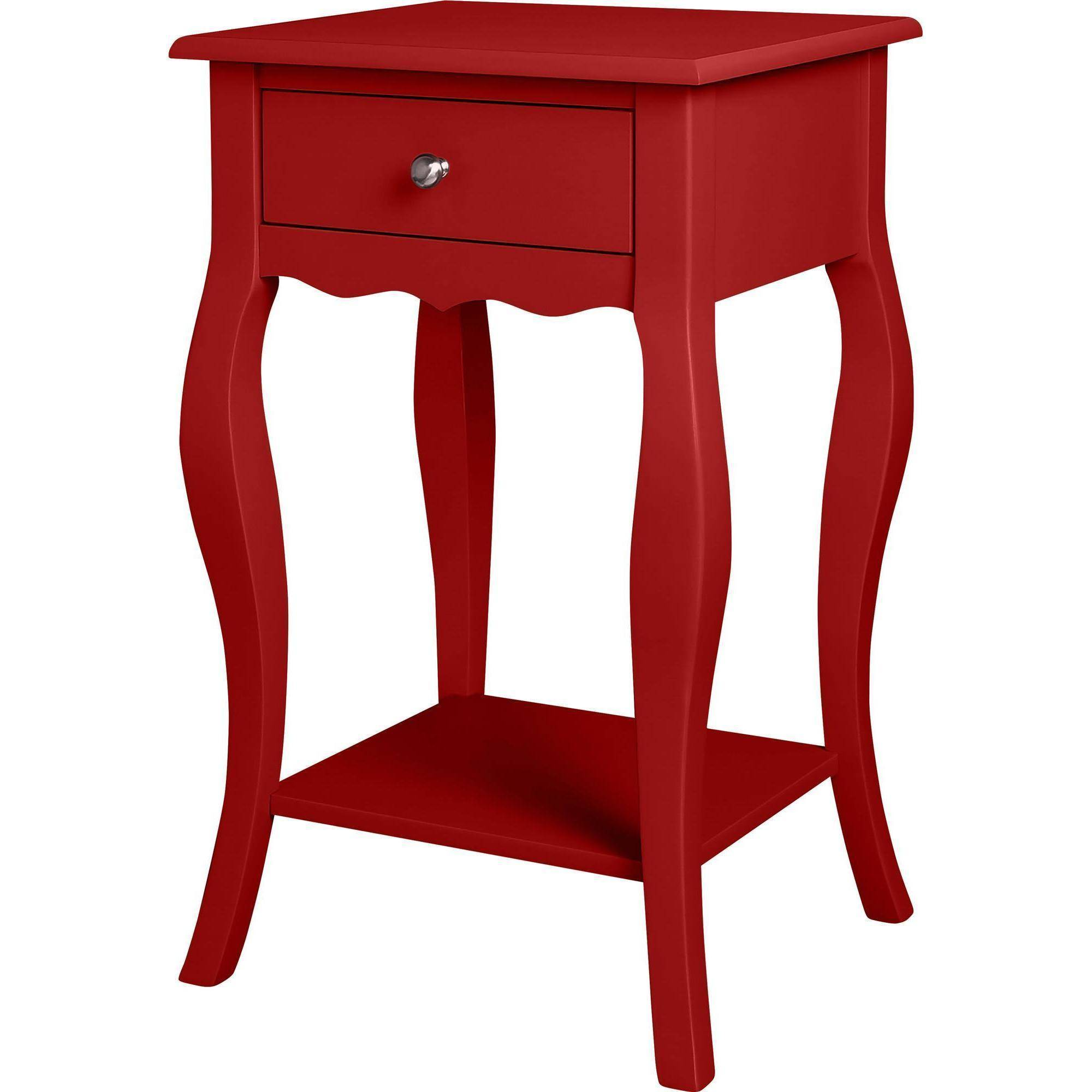 red end table pair of chinese red lacquer end tables circa   - ameriwood home kennedy accent table gray walmartcom