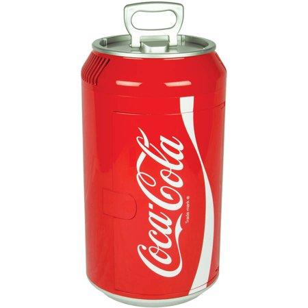 Koolatron Coca Cola 8 Can Portable 12V Mini Fridge For Car  Boat Or Camper
