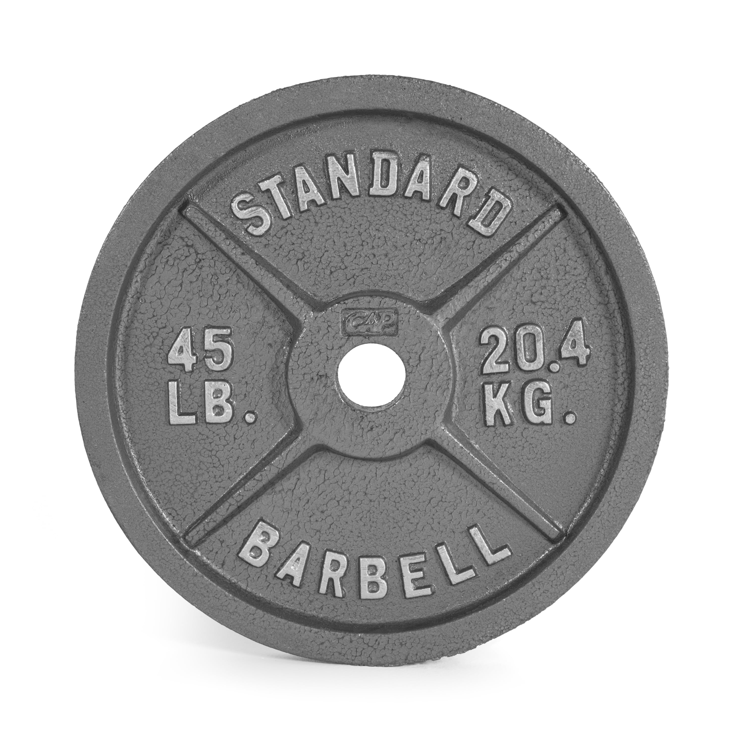 CAP Barbell 2-Inch Olympic Plate, Assorted Colors by Cap Barbell