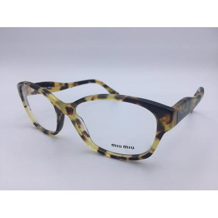 c475836958fd Miu Miu VMU 031 7SO Brown Tortoise Plastic Eyeglasses 55mm ODU ...