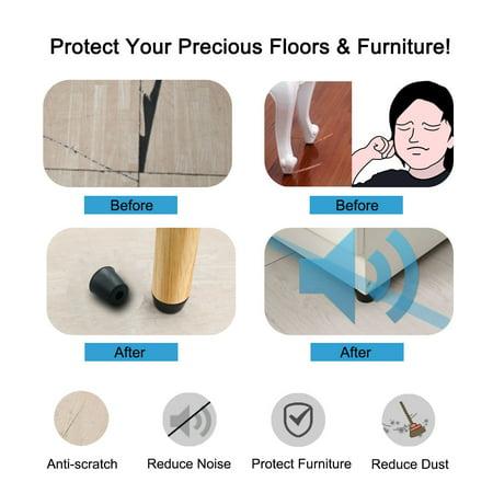 32pcs Rubber Feet Bumper Amplifier Speaker Floor Protector Leg Pad, D20x15xH17mm - image 5 of 7