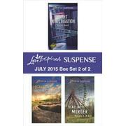 Love Inspired Suspense July 2015 - Box Set 2 of 2 - eBook