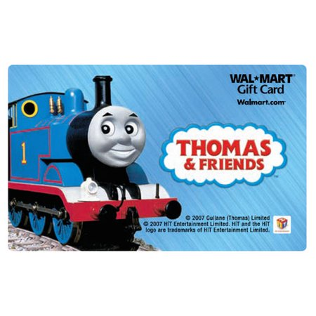 Thomas The Train Gift Card Walmart Com