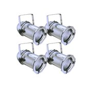 4x PAR CAN 16 Polish Light Stage DJ BAR PAR16 Lighting