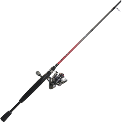 "Quantum Optix 20 Spinning Reel Combo with 72"" Composite Rod"