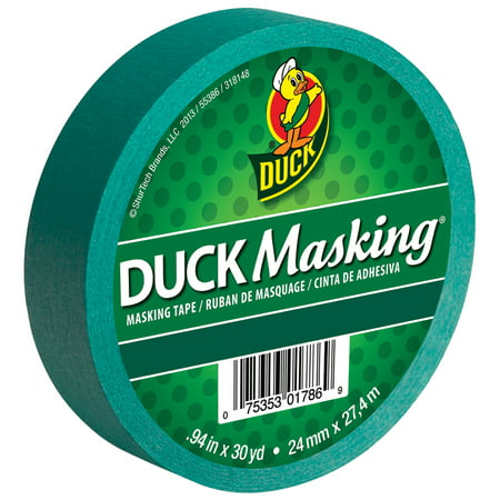 Duck Tape Colored Duck Masking Tape, 0.94