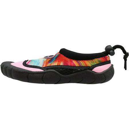 Norty Women's Tie Dye Water Shoes Aqua Socks Pool Beach Surf Swim Slip On 41158-10B(M)US Pink Tie Dye